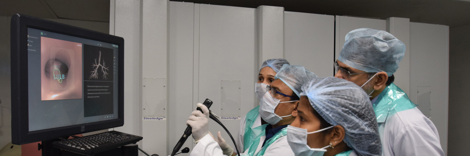 Certificate Course in Diagnostic & Interventional  Bronchoscopy and Thoracoscopy